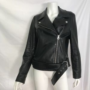 MADEWELL CLASSIC LEATHER MOTORCYCLE JACKET